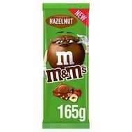 M&M's Hazelnut Chocolate Bar, 165 G