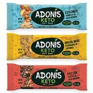 Adonis Keto Bar | Mixed Snack Bars | 100% Natural Nut Snacks