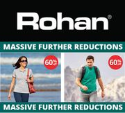 ROHAN SALE - Massive Further Reductions