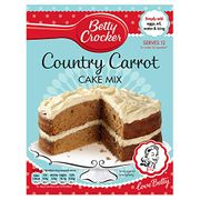 Betty Crocker Country Carrot Cake Mix 425g. ( pack of 6)