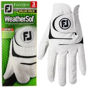 Footjoy Weathersof 3 Pack Golf Gloves (LH for RH Golfer ) £18 at Hotgolf