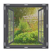 Fly Screen Mosquito Net for Windows, EXTSUD 150 X 150 Cm
