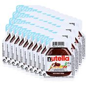 40pc Pack Lunch Size Nutella