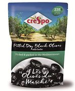 Crespo Olives Du March?? Pitted Dry Black Olives with Herbs 70 G
