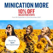 Travelodge Autumn Sale Extra 10% off Selected Stays