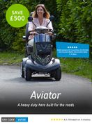 Save £500 on the Aviator 8mph Mobility Scooter