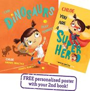 FREE Personalised Kids Book worth £14.99 for £1.99 P&P