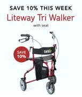 Get 10% off Our Liteway Tri-Walker