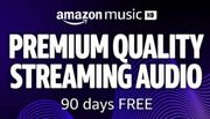 CHEAP! 30 Days Free Upgrade to Amazon Music HD - Premium Quality Audio