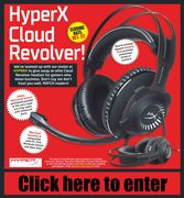 Win a HyperX Cloud Revolver Headset for Gamers