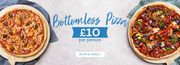 Eat as Much Pizza as like £10 & as Much Prosecco & Pizza as like £15 Mon-Thur