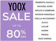 LAST CALL! YOOX SALE - up to 85% off Designer Clothing, Bags