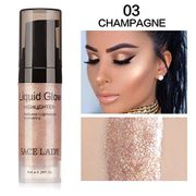 Liquid Glow Highlighter Lip Foundation Makeup Shimmer Cream Facial Bronzer )