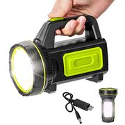 Rechargeable Searchlight Handheld LED Flashlight
