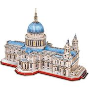 3D Jigsaw Puzzles St. Paul's Cathedral, 643 Pieces