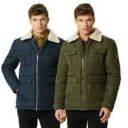 Regatta Mens Lochlan Insulated Quilted Jacket -Removable Collar