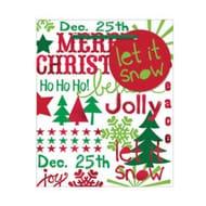 Christmas Sayings Small Gift Bag 14cm