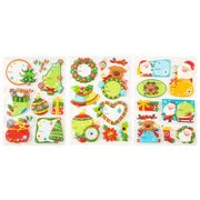 Assorted Christmas Pop-up Gift Tags - Pack of 8