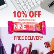 10% off + FREE Delivery - End of Summer Sale