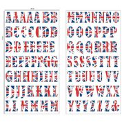 CHEAP! DC-Fix Self-Adhesive 3D Union Jack Home Decor Wall Decal Stickers- A-Z