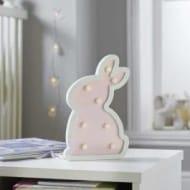 Best Price! Battery Wooden Bunny LED Night Light, 24cm
