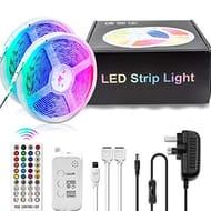 LED Strip Lights, COOLAPA 10M(32.8ft) RGB Strips Lighting