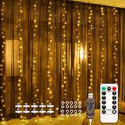 1/2 Price for LED Window Curtain String Light