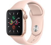 *SAVE £50* APPLE Watch Series 5 - Gold Aluminium with Pink Sand Sports Band
