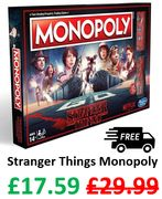 Stranger Things Monopoly Board Game - £17.59 + FREE DELIVERY with CODE