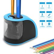 Pencil Sharpener - Electric Pencil Sharpener or Battery Operated - 2 Holes