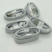 5 of 1m Long 8 Pin Usb iPhone 6 7 8 X XR XS Charging Cables Bundle