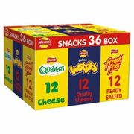 Walker's Crisps Snack Box 36 Packs