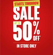Matalan 50% Sale Starts Tomorrow