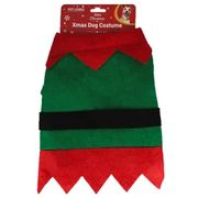 Christmas Elf Dog Costume in Medium