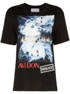 Versace Donatella Graphic Print T-Shirt