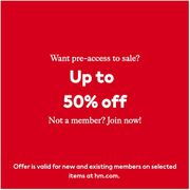 Members Pre-Access Sale