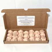 FREE DELIVEY! 21 Bath Bombs Chocolate & Orange Scented 10g