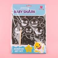 Cheap Baby Shark Scratch Art Set - Only £1.5!
