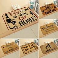 Humorous Door Mat