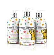 Baylis & Harding Children in Need Strawberry Swirl Hand Wash (Pack of 3)