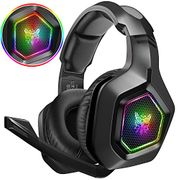 DIZA100 Gaming Headset for PS4, PS5, Surround Stereo 3.5mm Headphones with Mic