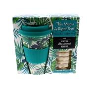 Bamboo Coffee Mug - Green