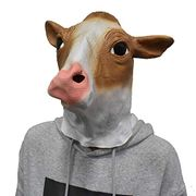 Cow Latex Mask Animal Full Head