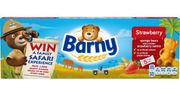 Barny Strawberry Sponge Bear Cake Bars (4 Packs of 5x30g Cakes)