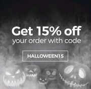 Get 15% off Your Order.