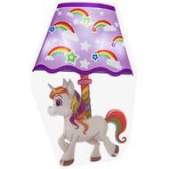 Unicorn Led Wall Sticker Night Light £1.99 delivered