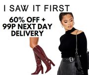 I Saw It First - 60% Off Everything + 99p Next Day Delivery