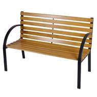 12 Slats Wooden Garden Bench