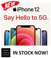IN STOCK NOW at JOHN LEWIS - Apple iPhone 12, 64GB / 128GB / 256GB