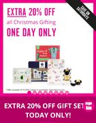 Save on Saturdays! Extra 20% off All Gifting on Saturday Only All Gift Included
